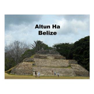 Altun Ha Belize Postcard