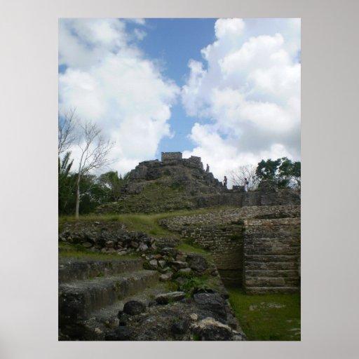 Altuna Ha Mayan Ruins Posters