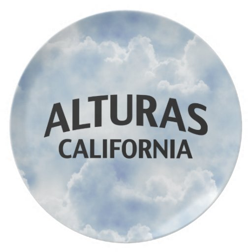 Alturas California Plato De Comida