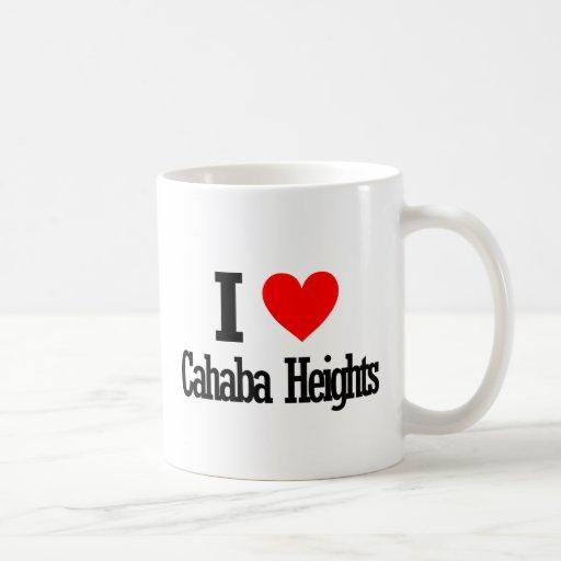 Alturas de Cahaba, diseño de la ciudad de Alabama Taza De Café