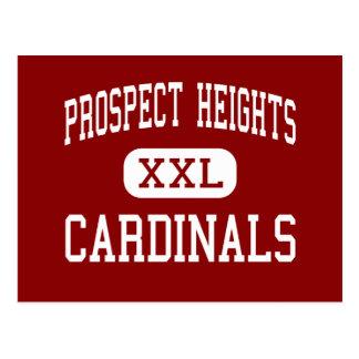 Alturas de la perspectiva - cardenales - altas - postal