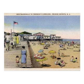 Alturas de la playa, NJ Tarjetas Postales