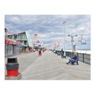Alturas de la playa, orilla del jersey tarjetas postales