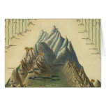 Alturas de las montañas principales en el mundo tarjeta