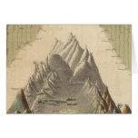 Alturas de las montañas principales en el mundo felicitacion
