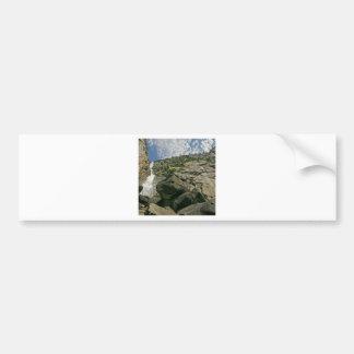 Alturas de los acantilados de Sandy de la cascada Etiqueta De Parachoque