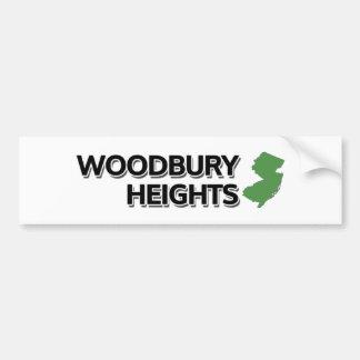 Alturas de Woodbury, New Jersey Etiqueta De Parachoque
