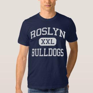 Alturas medias de Roslyn de los dogos de Roslyn Remeras