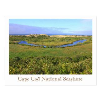 Alturas nacionales del peregrino de la costa de postales