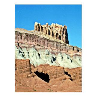 Alturas rugosas - parque nacional del filón tarjeta postal