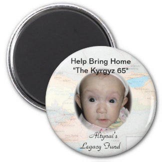 Altynai's Legacy 2 Inch Round Magnet
