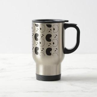 Alubias negras taza térmica