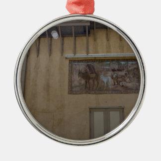 Alubuquerque Alley Metal Ornament