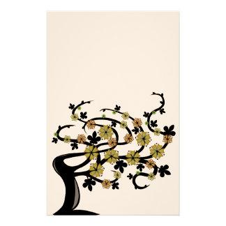 Aludra el árbol  papeleria de diseño