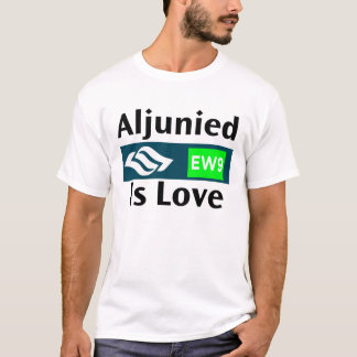 Alujnied Is Love - Singapore T-Shirt