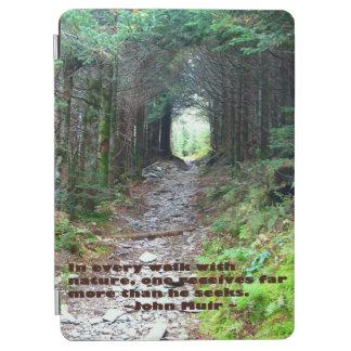 Alum Cave Trail: Every walk w/nature… John Muir iPad Air Cover
