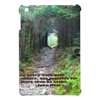 Alum Cave Trail: Every walk w/nature… John Muir iPad Mini Case