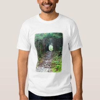 Alum Cave Trail: Every walk w/nature… John Muir T Shirt