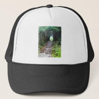 Alum Cave Trail: Every walk w/nature… John Muir Trucker Hat