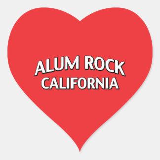 Alum Rock California Heart Sticker