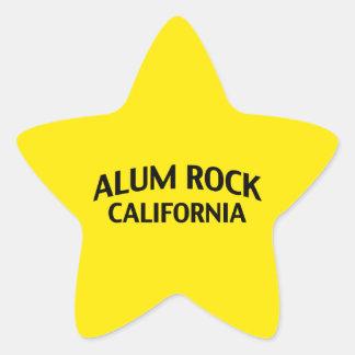 Alum Rock California Star Sticker
