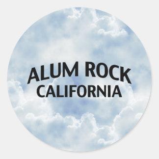Alum Rock California Classic Round Sticker