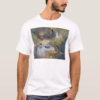 Alumerzo de Claude Monet el  : El jardín Playera