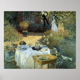 Alumerzo de Claude Monet, impresionismo del Póster