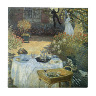 Alumerzo de Claude Monet impresionismo del vintag Azulejo