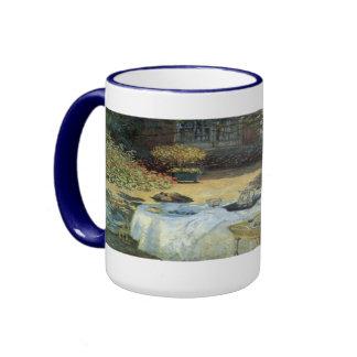 Alumerzo de Claude Monet impresionismo del vintag Taza De Café