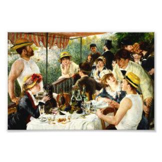 Alumerzo de Renoir de la impresión de la foto del