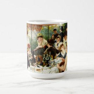 Alumerzo de Renoir de la taza del fiesta del canot