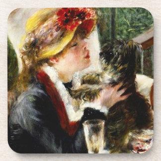 Alumerzo de Renoir de los prácticos de costa del f Posavasos De Bebidas