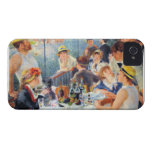 Alumerzo de Renoir del fiesta del canotaje Case-Mate iPhone 4 Cárcasa