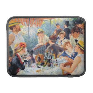 Alumerzo de Renoir del fiesta del canotaje Funda MacBook