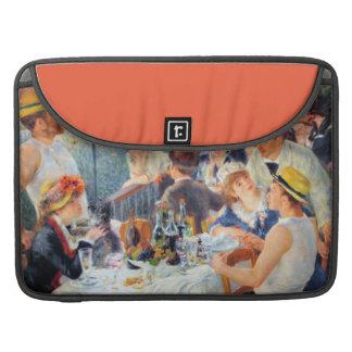 Alumerzo de Renoir del fiesta del canotaje Funda Macbook Pro