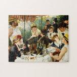 Alumerzo de Renoir del fiesta del canotaje Rompecabeza Con Fotos
