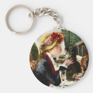 Alumerzo de Renoir del llavero del fiesta del cano