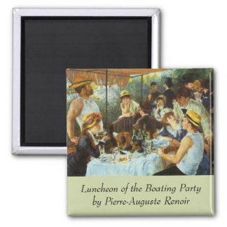 Alumerzo del fiesta del canotaje de Pedro Renoir Imanes Para Frigoríficos