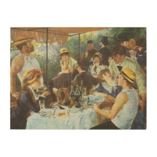 Alumerzo del fiesta del canotaje de Pedro Renoir Cuadros De Madera