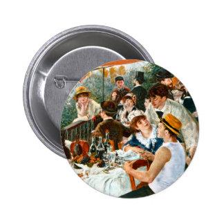 Alumerzo del fiesta del canotaje, Renoir Pin