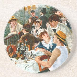 Alumerzo del fiesta del canotaje, Renoir Posavasos Diseño