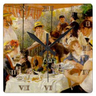 Alumerzo del partido Auguste Renoir - Cl del canot Reloj Cuadrado