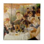 Alumerzo del partido Auguste Renoir del canotaje Azulejos