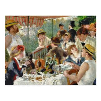Alumerzo del vintage Renoir del fiesta del Tarjeta Postal