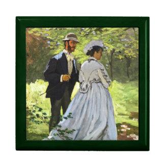 Alumerzo en la hierba Claude Monet Cajas De Regalo