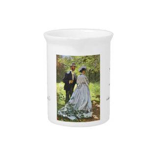 Alumerzo en la hierba Claude Monet Jarrones