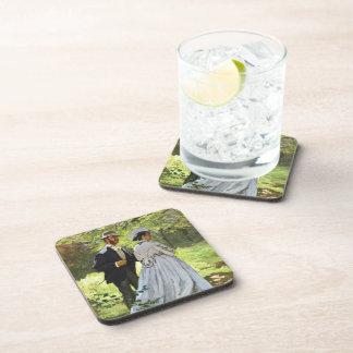 Alumerzo en la hierba Claude Monet Posavasos De Bebidas