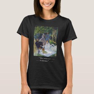 Alumerzo en la hierba, panel central Claude Monet Playera