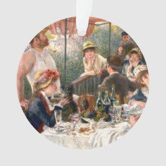 Alumerzo francés de Renoir en el fiesta del